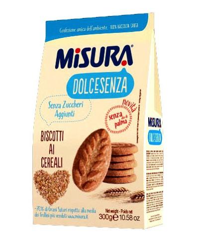 Misura - Biscotti Dolcesenza ai Cereali 300 gr